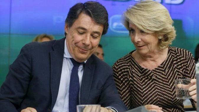 La trama Púnica señala más que nunca a Esperanza Aguirre y su sucesor, Ignacio González