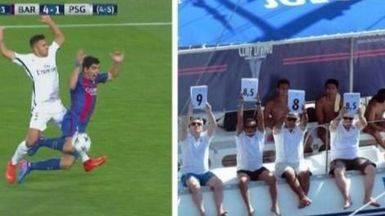 Los mejores memes del Barça-PSG