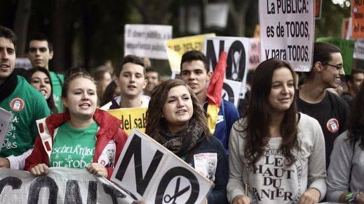La comunidad educativa, en huelga este jueves 9 de marzo