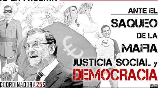 La Coordinadora 25-S presenta la manifestación estatal del 1 de abril contra los Presupuestos