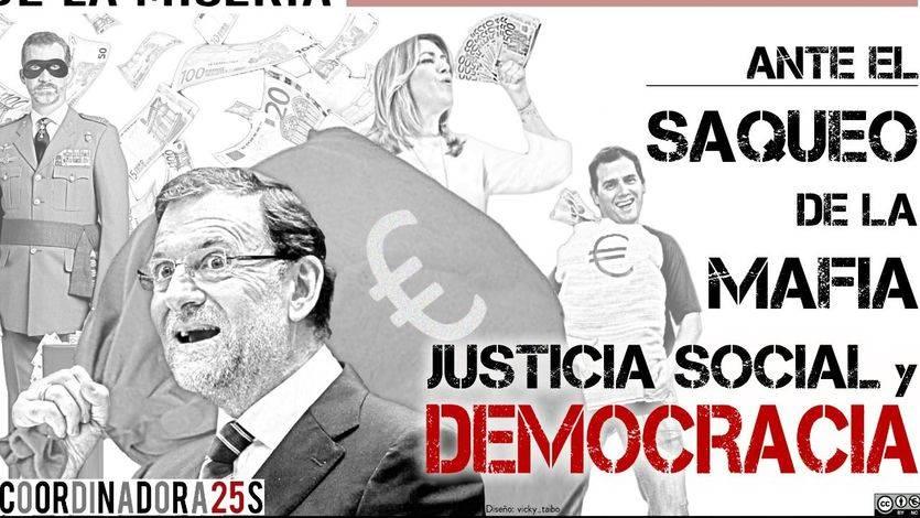 La Coordinadora 25-S presenta la manifestación estatal del 1 de abril contra los Presupuestos 'de miseria y recortes'