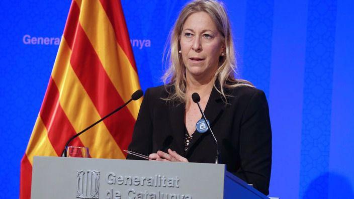 El nacionalismo catalán piensa en Neus Munté para suplir al inhabilitado Artur Mas