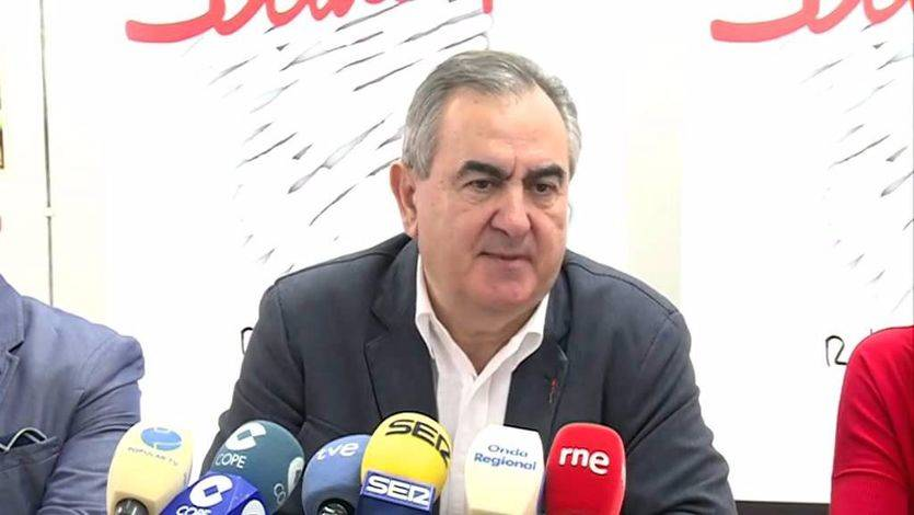 Rafael González Tovar, secretario general del PSOE de Murcia