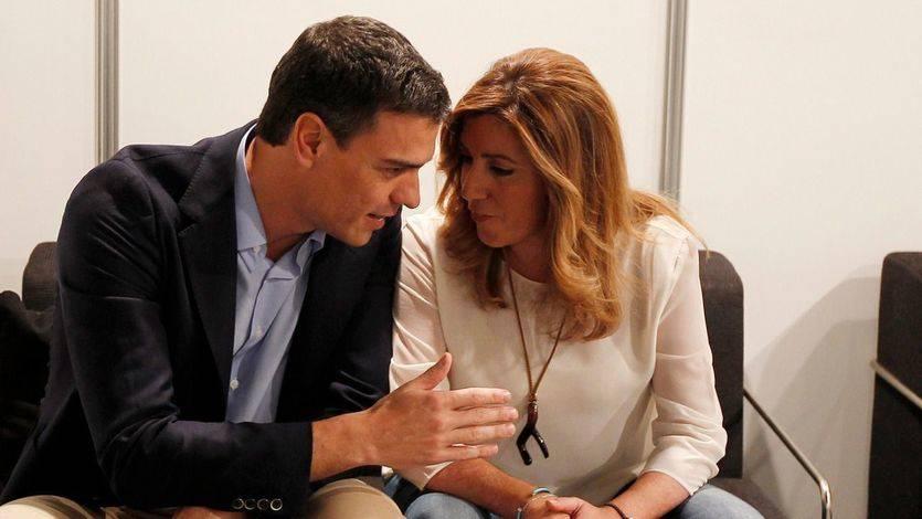 La gestora de Susana Díaz no se fía de dónde lleguen los fondos para la campaña de Sánchez