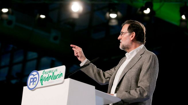 El presidente del Gobierno y del PP, Mariano Rajoy, clausura el congreso del PP de Andalucía