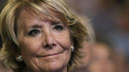 Esperanza Aguirre se libra de testificar ante el juez tras la petición de Granados