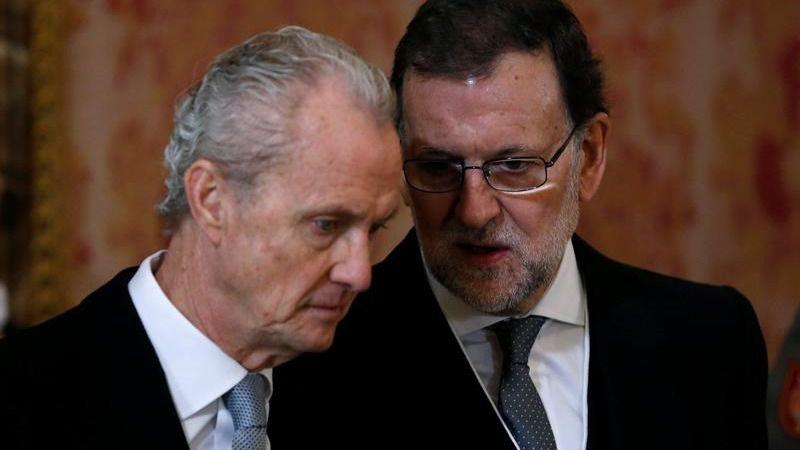 Rajoy y Morenés en la Pascua Militar