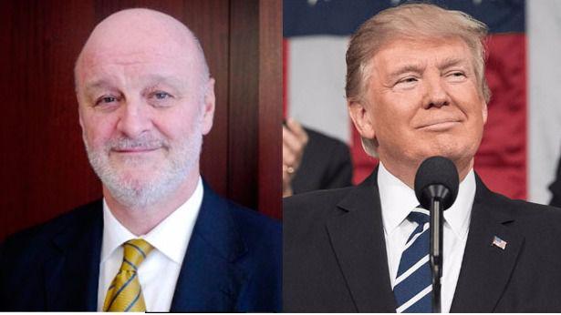 Ramón Gil-Casares Donald Trump y Pedro Morenés