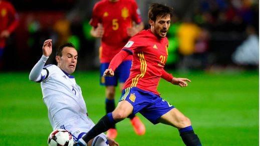 La pegada de una España que flojeó en defensa, clave en la victoria ante Israel (4-1)