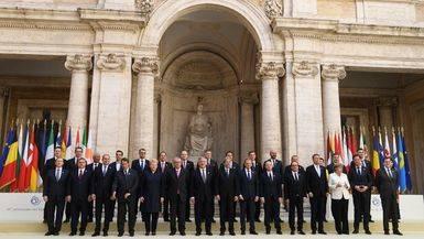 Los líderes de Europa redibujan la Unión tras la salida del Reino Unido