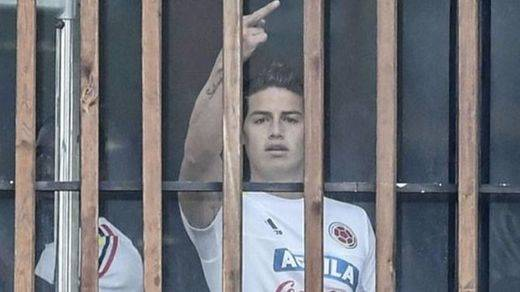 Colombia, muy enfadada con su ídolo James Rodríguez por este gesto