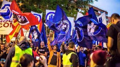 Desalojan de otro edificio 'okupado' a los neonazis de Hogar Social Madrid