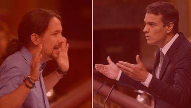 'Crowdfunding' de Podemos vs. 'crowdfunding' de Pedro Sánchez: diferencias y coincidencias