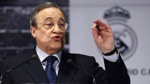 Florentino Pérez respondió así a las acusaciones de Gerard Piqué