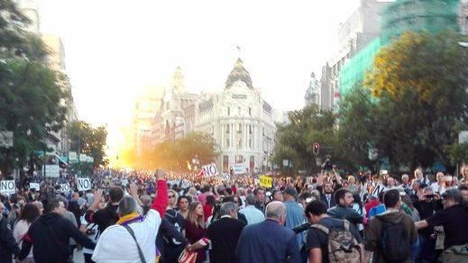 'Ante el saqueo de la mafia, justicia social y democracia': la Coordinadora 25S prepara su manifestación