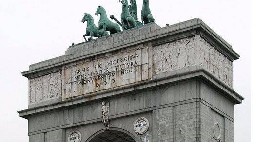 Lo que cuesta el 'Arco de la Victoria' franquista de Moncloa en Madrid