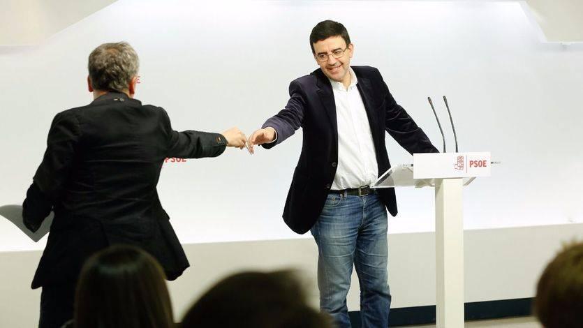 Los candidatos a la secretaría general del PSOE tendrán que recoger a 'ciegas' los avales para las primarias del 21 de mayo