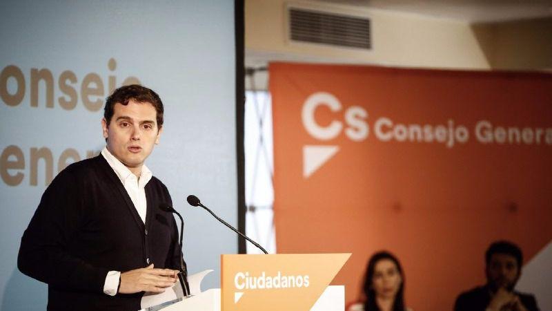 Rivera: 'Exigiremos a PSOE y Podemos que no bloqueen las medidas sociales reflejadas en los Presupuestos'