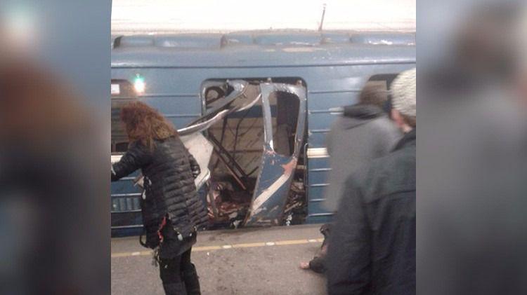 Atentado en el metro de San Petersburgo: estudian la hipótesis del terrorista suicida