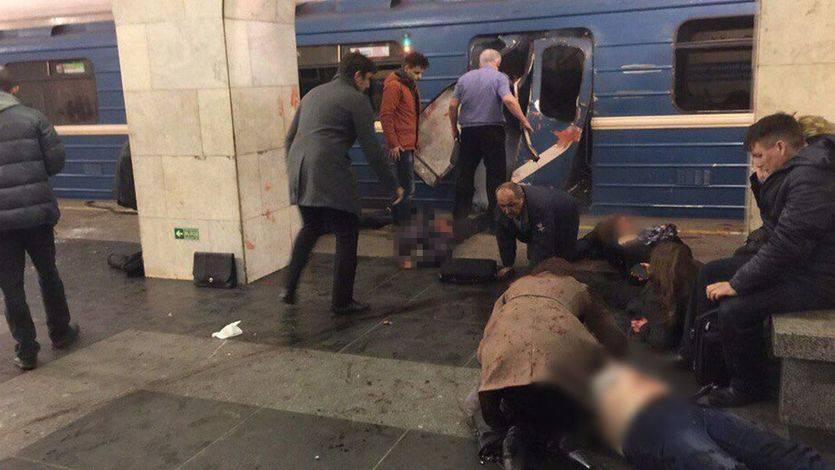 El atentado en el metro de San Petersburgo deja ya 11 muertos y casi medio centenar de heridos