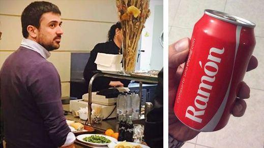 Ramón Espinar y la Coca-Cola más cara del mundo