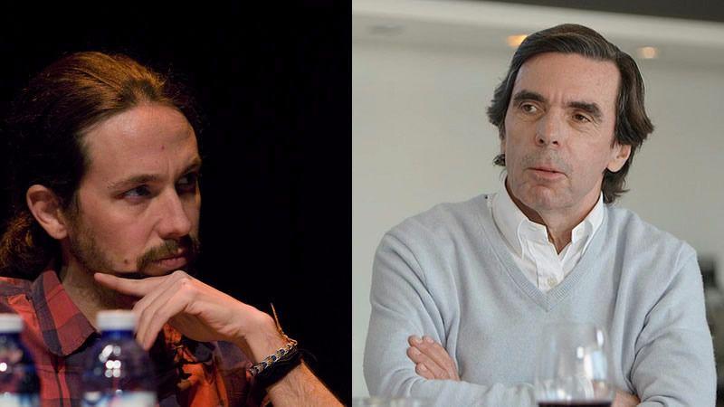 Las mayores rajadas de un desinhibido Aznar en el programa de Bertín Osborne