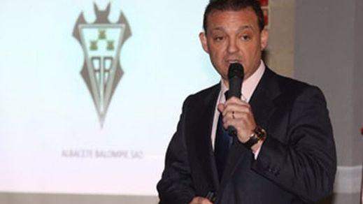 José Miguel Garrido, presidente del Albacete Balompié, culpa a la Diputación de su marcha del club