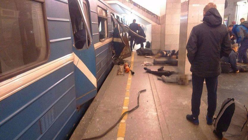 Explosión en una zona residencial de San Petersburgo tras una operación policial