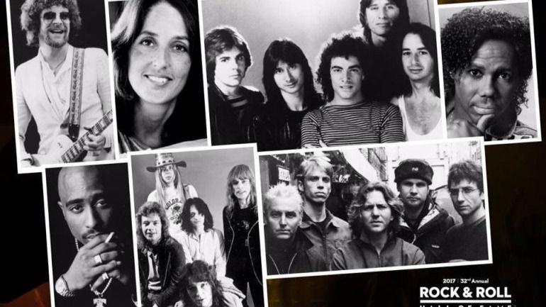 Un repaso a los 6 nuevos elegidos por el Rock and Roll Hall of Fame
