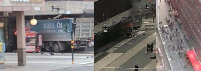 La Policía busca a este sospechoso del atentado de Estocolmo