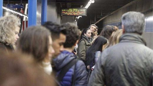 Huelga en el Metro de Madrid: los maquinistas comienzan un ciclo de paros para los lunes
