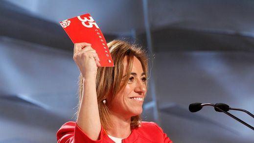 La emotiva carta de despedida del PSOE a Carme Chacón