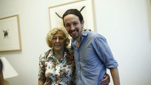 Carmena se resiste a la conquista de Podemos y Pablo Iglesias para su relevo en Madrid