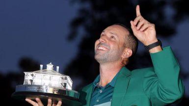 Sergio García gana el mítico Masters de Augusta siguiendo los pasos de Ballesteros y Olazábal