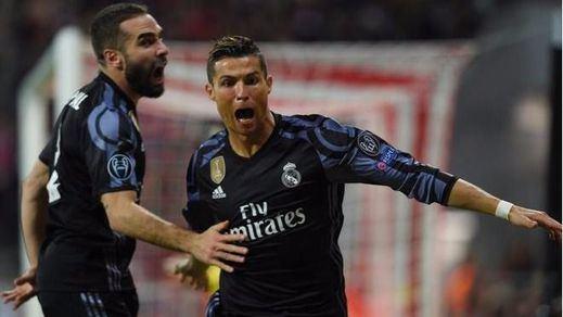 Champions: el Real estoquea al Bayern (1-2) y el Atlético doblega al Leciester (1-0)