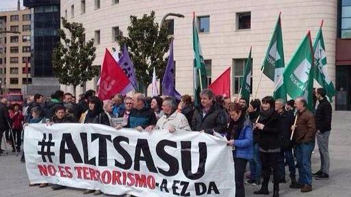 Caso Alsasua: la Audiencia no lo considera terrorismo pero mantiene en prisión a los implicados