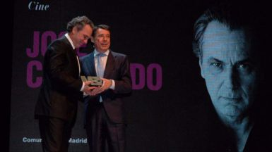 Coronado, en los Premios de Cultura 2012 Medalla Internacional de las Artes en Teatros del Canal