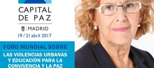Dura descalificación del Movimiento contra la Intolerancia a Manuela Carmena y su Foro Mundial sobre las Violencias Urbanas
