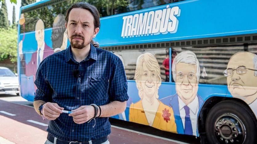 El 'tramabús' de Podemos cuesta alrededor de 700 euros al día