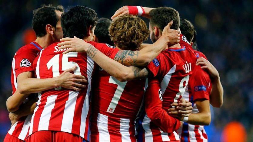 Champions: doblete madrileño con sufrimiento: Atleti (1-1) y Madrid (4-2), en semifinales