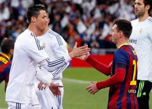 Ronaldo y Messi, con más ganas que nunca ante el Clásico