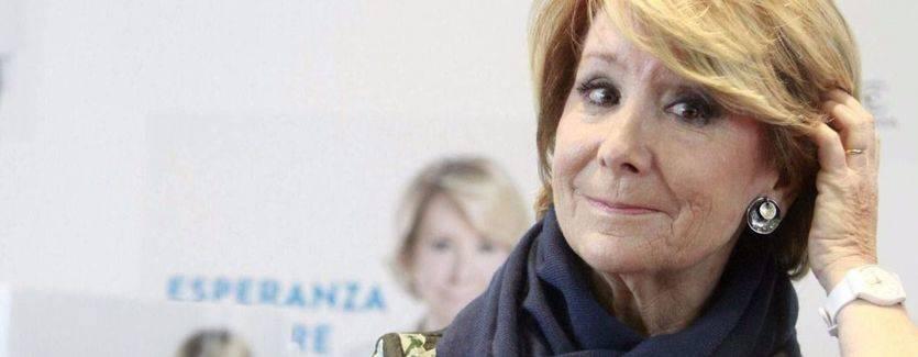 Aguirre, 'conmocionada' tras la detención de González, habla de 'mazazo enorme' y 'momentos difíciles'