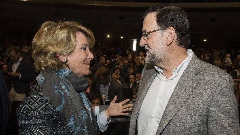 El PP mantiene el apoyo a Aguirre de cara a la galería, pero espera su dimisión