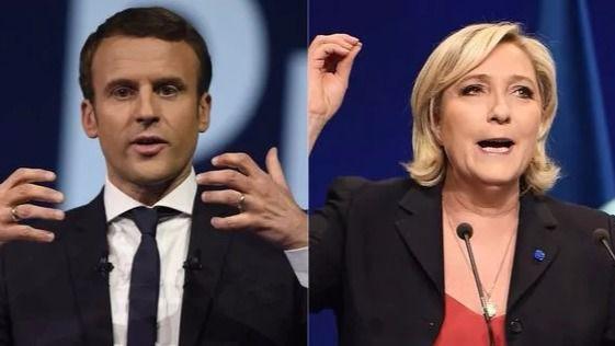 Francia se juega el futuro en las presidenciales con Le Pen y Macron ligeramente favoritos