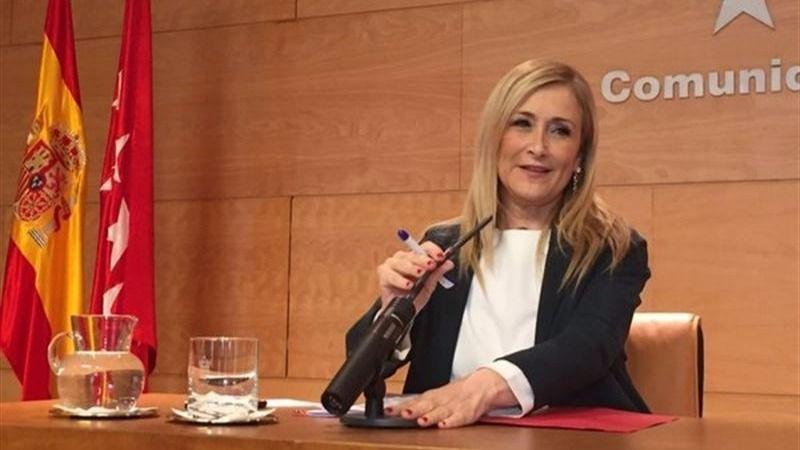 Cristina Cifuentes, presidenta da la Comunidad de Madrid