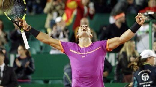 Nadal suma y sigue de récod: 10º título en Montecarlo y 70º en tierra batida