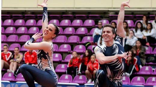 Sara Moreno y Vicente Lli, campeones en la Suzuki World Cup de gimnasia aeróbica