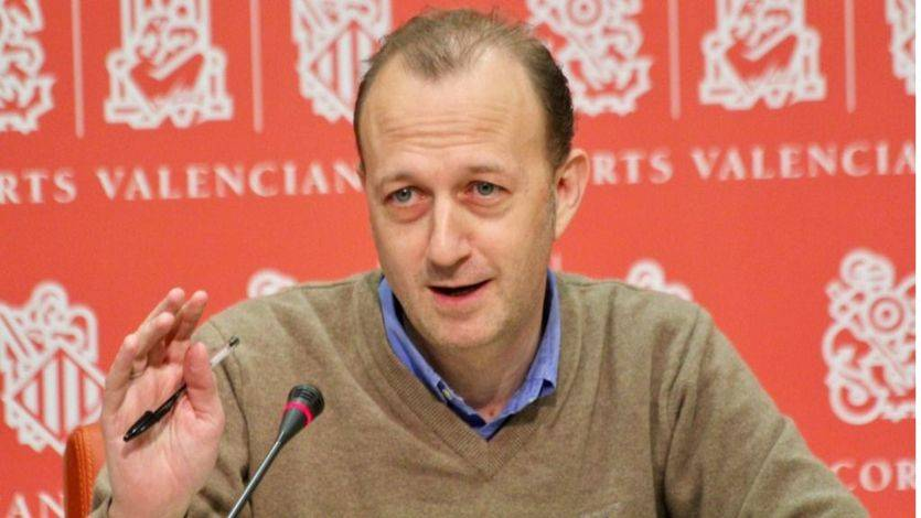Alexis Marí, ex portavoz de Ciudadanos en las Cortes Valencianas
