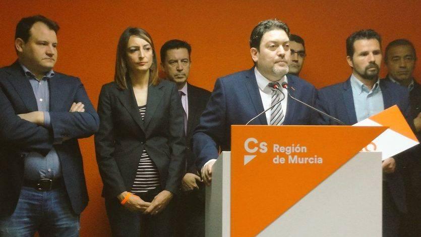 Ciudadanos facilitará una nueva investidura del PP en Murcia aunque sin acuerdo global