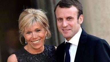 Así es Brigitte Trogneux, la próxima primera dama de Francia (si gana Macron)